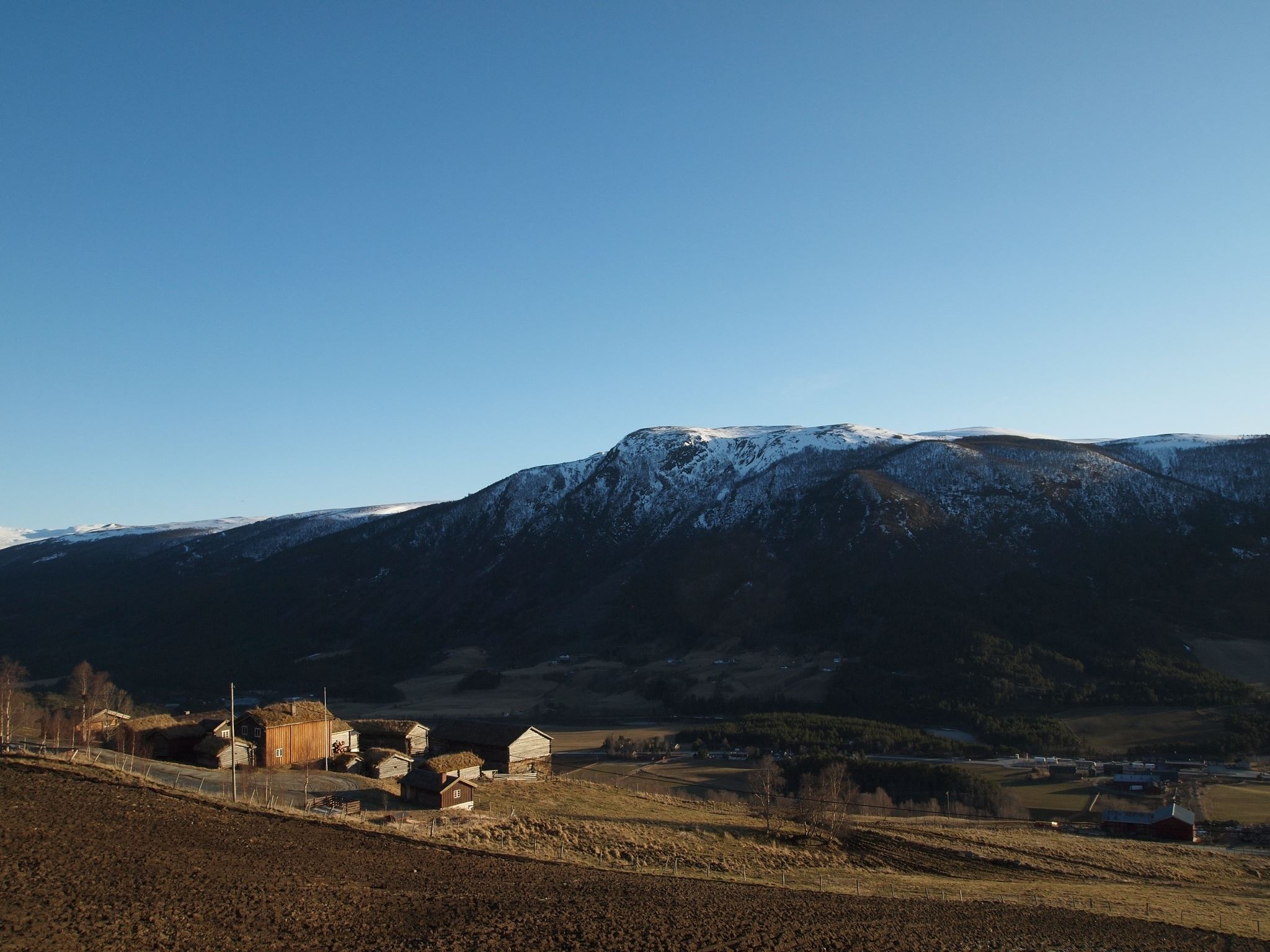 Budsjord, the pilgrim farm