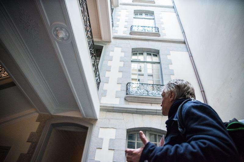 Derrière les façades/parcours Grand-Bayonne