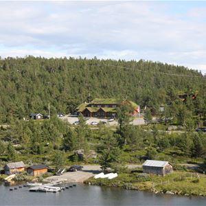 © Lemonsjø Fjellstue, Lemonsjø Fjellstue og Hyttegrend
