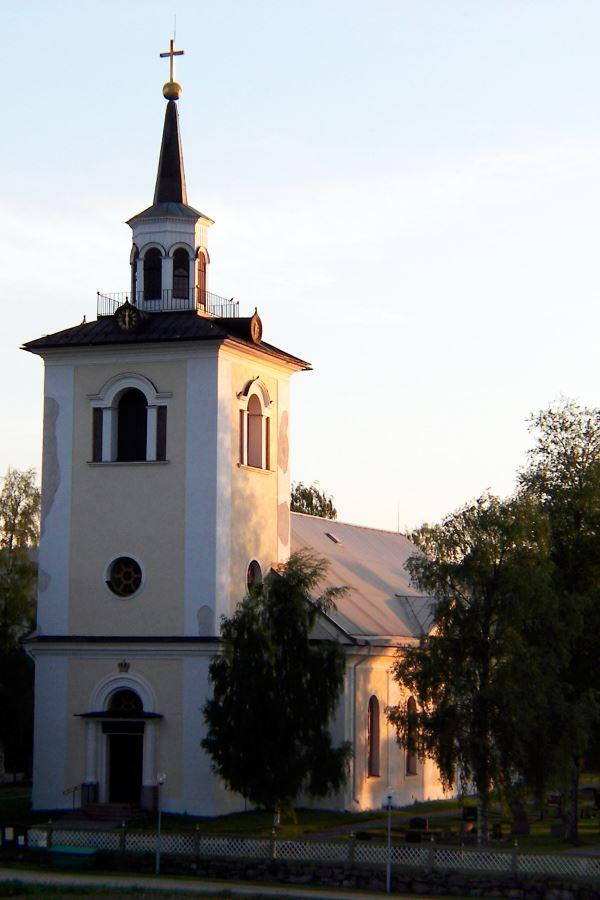 © Ådalsbygdens pastorat, Styrnäs Church