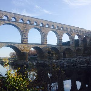 Pont du Gard/Tavel/Chateauneuf du Pape - Half Day Tour - Provence Travel