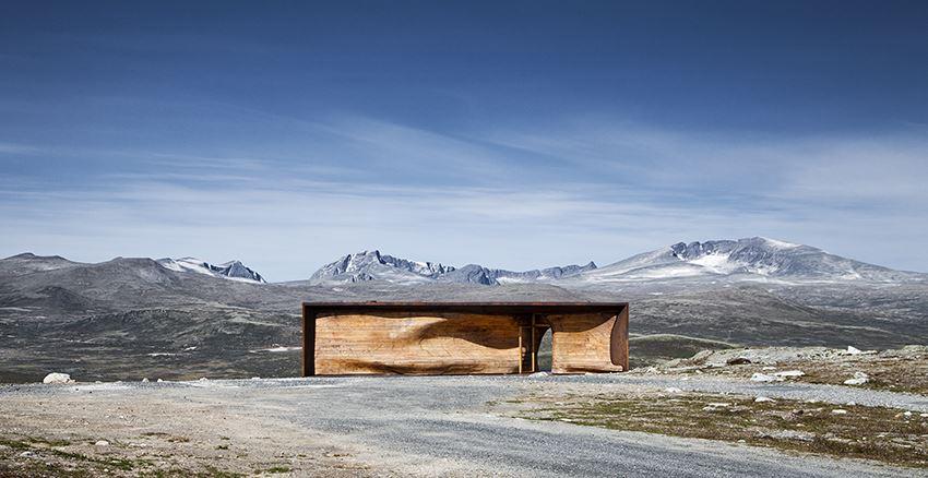 © ©Villreinsenteret , viewpoint Snøhetta