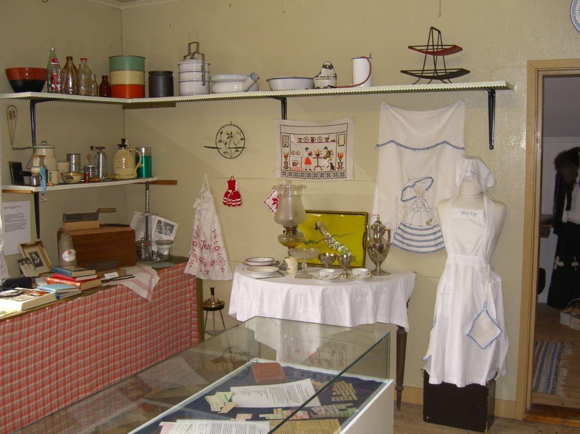 © Bomanska museet, Gamla köket