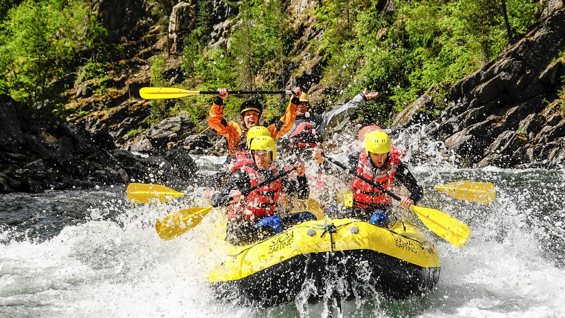 Sjoa Rafting