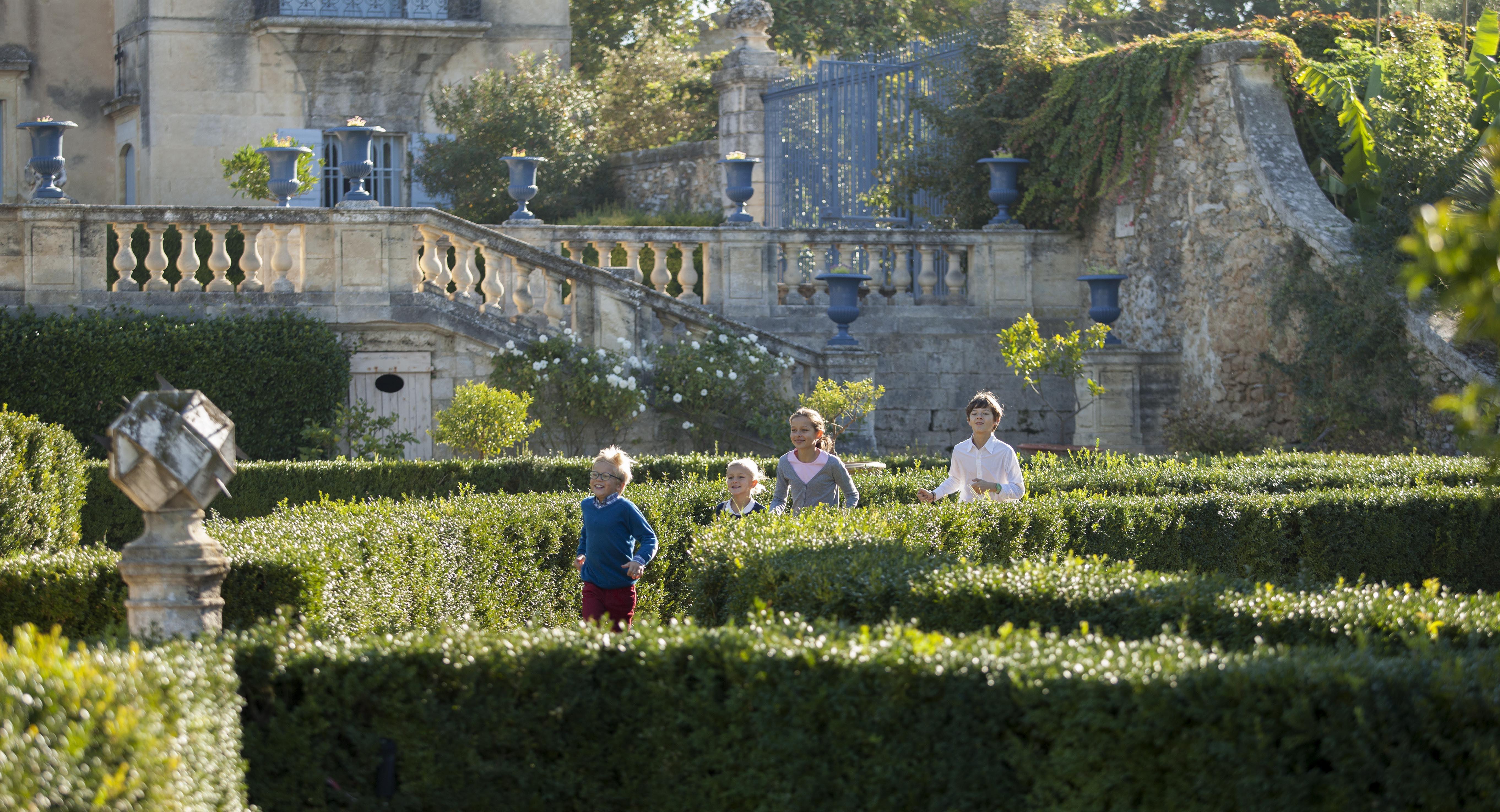 Caveau de dégustation et visite libre des jardins du Château de Flaugergues