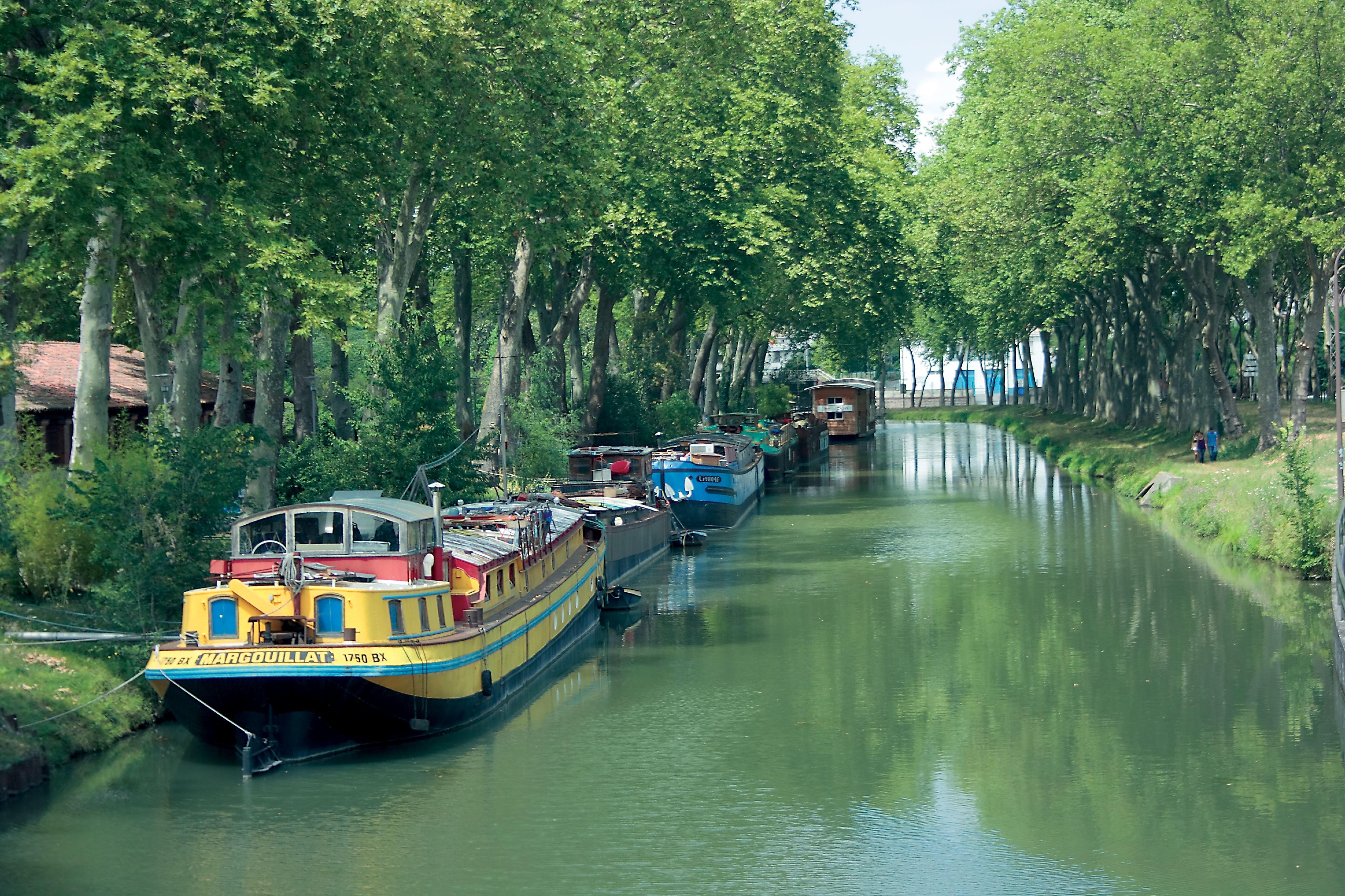 Le canal du Midi, patrimoine mondial de l'humanité