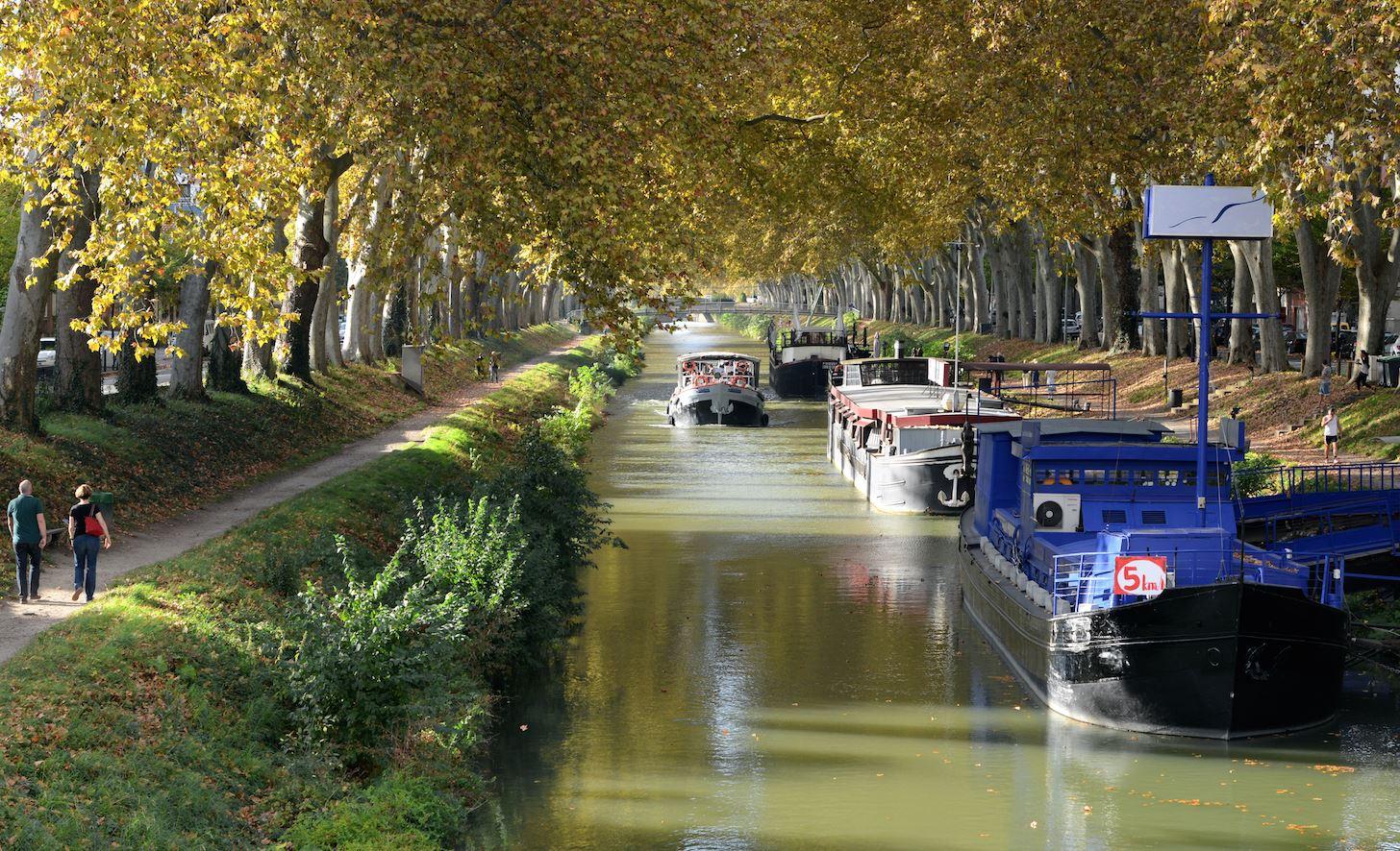 Le canal du Midi, patrimoine de l'humanité