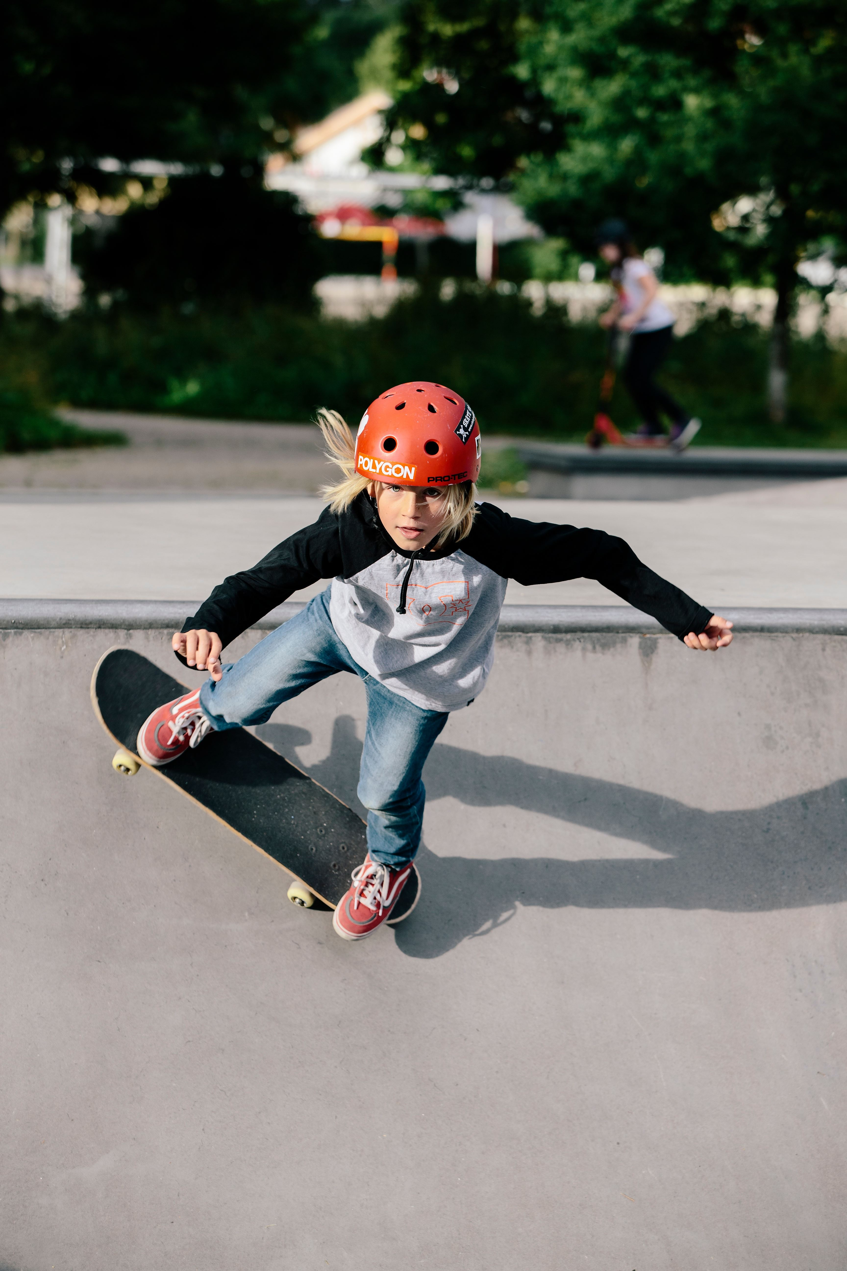 Jonas Ljungdahl, The skatepark at Spetsamossen