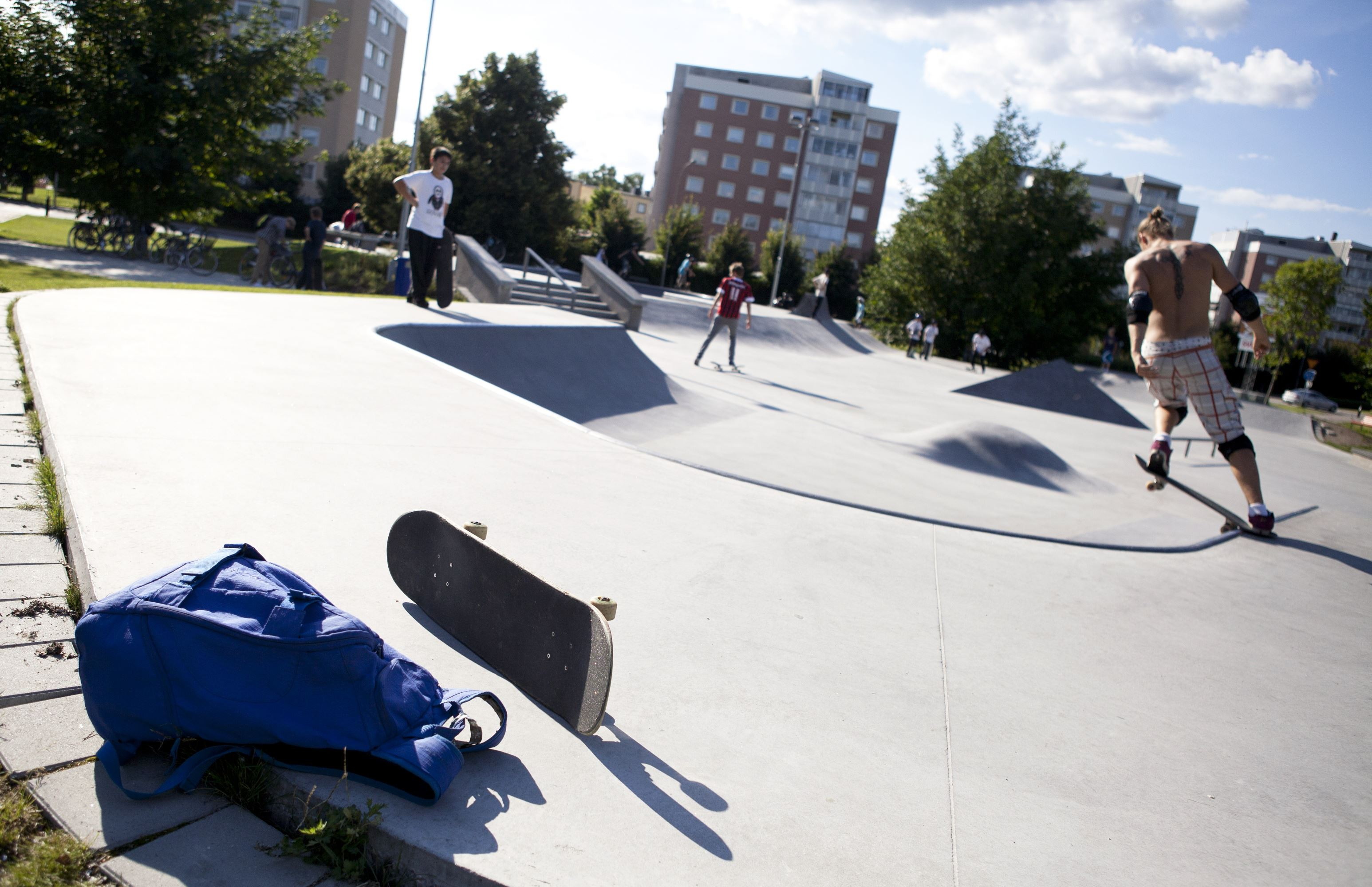 Tomas Magnusson, The skate park at Spetsamossen