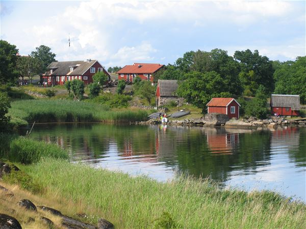 "The bay ""Maren"" on Tjärö"