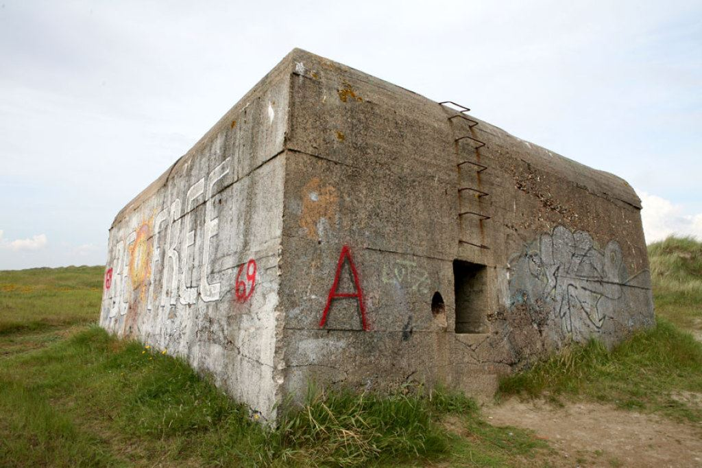 Bunkerrundvisning med dansk guide