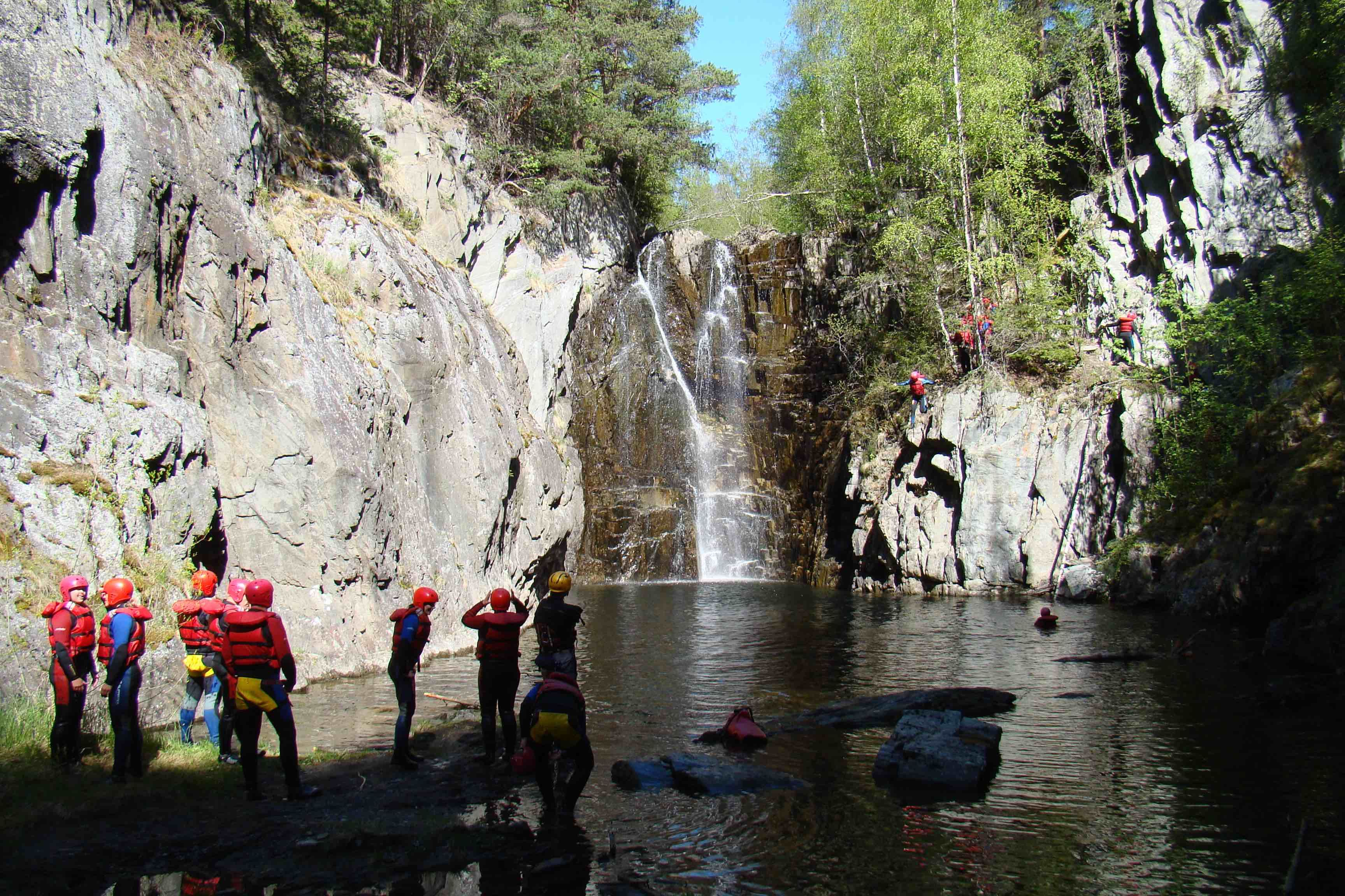 Activity package rafting and canyoning