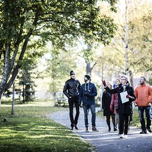 Foto: Sandra Lee Petersson,  © Copy: Sandra Lee Petersson, An historical city tour in Östersund