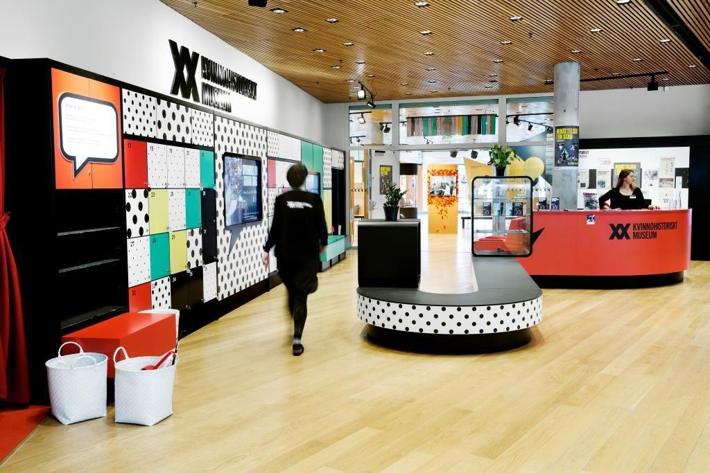 Utställningar på Kvinnohistoriskt museum