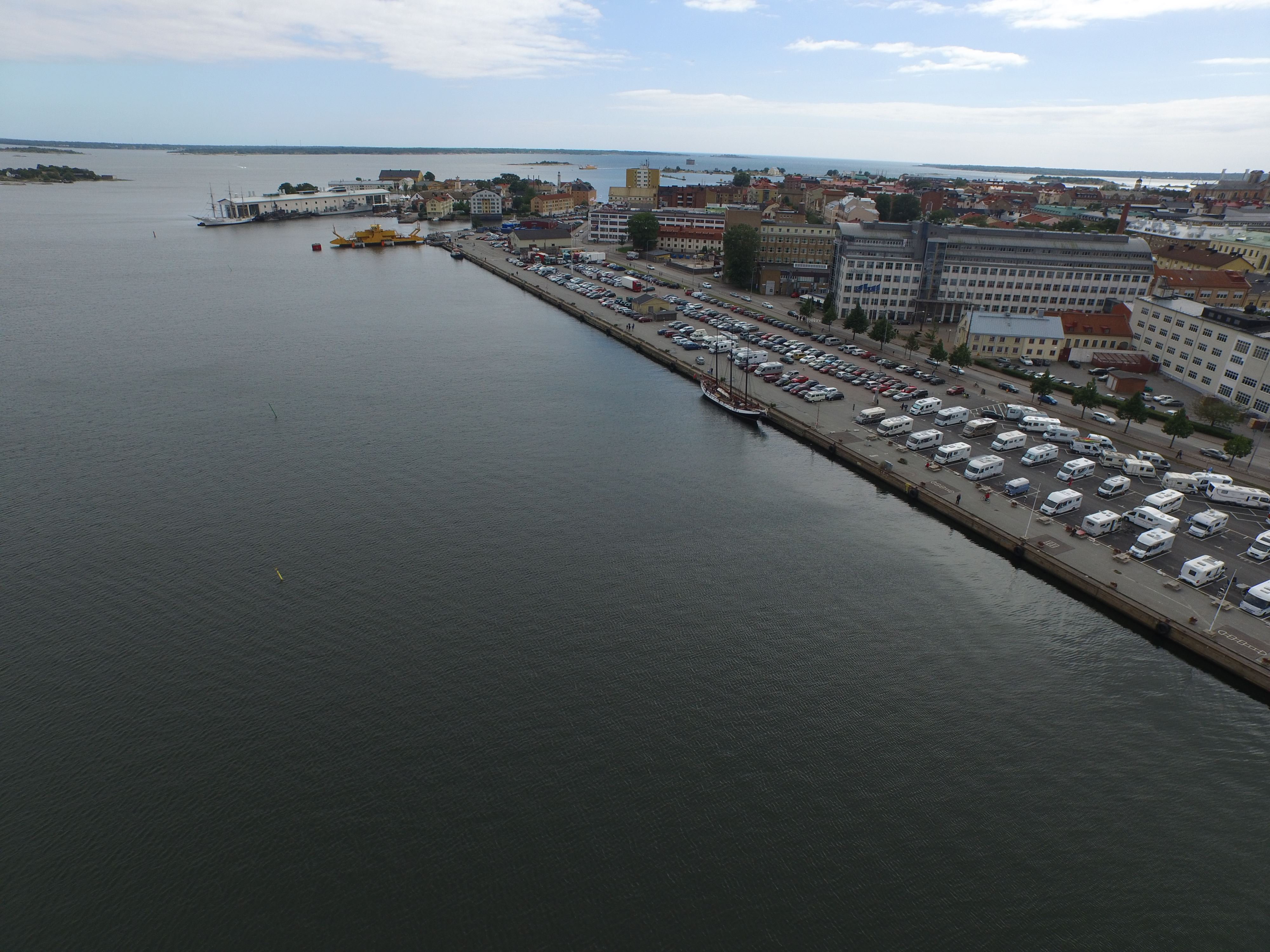 RV-parking Karlskrona City Marina
