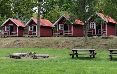 Stenbräckagården Hägnan's camping cottages