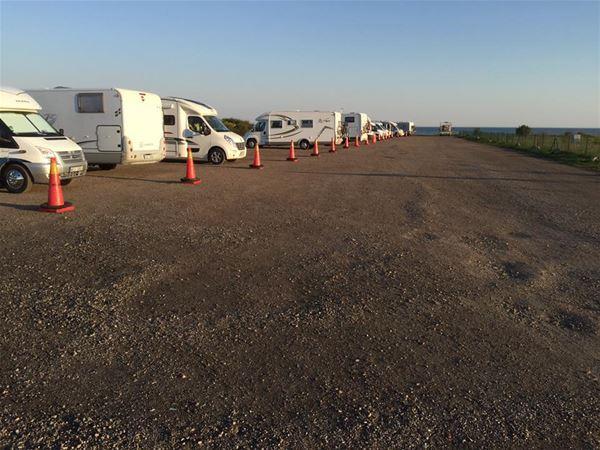 Västra hamnen, ställplats och parkering för husbil/husvagn