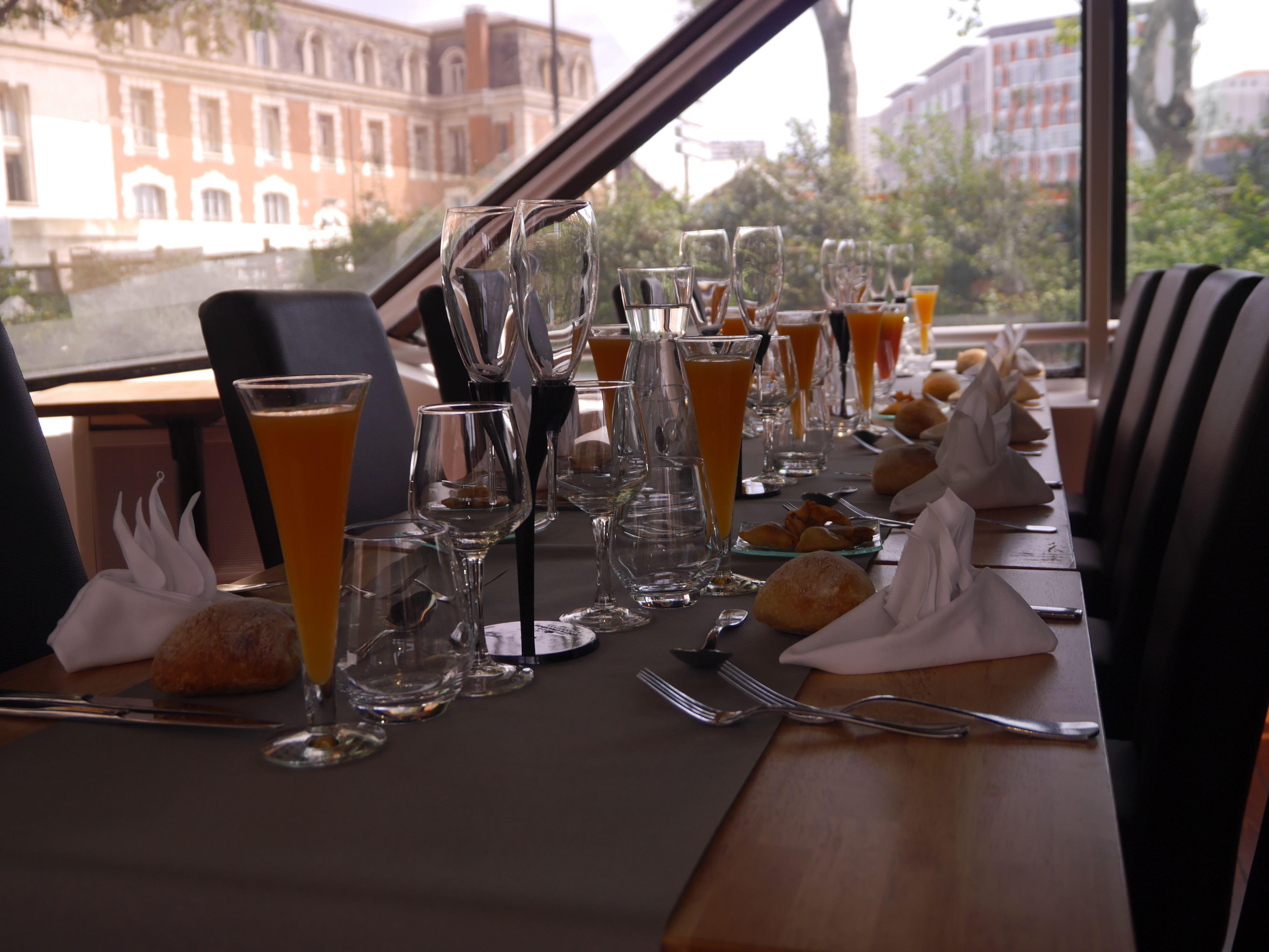 L'Occitania bateau restaurant croisière