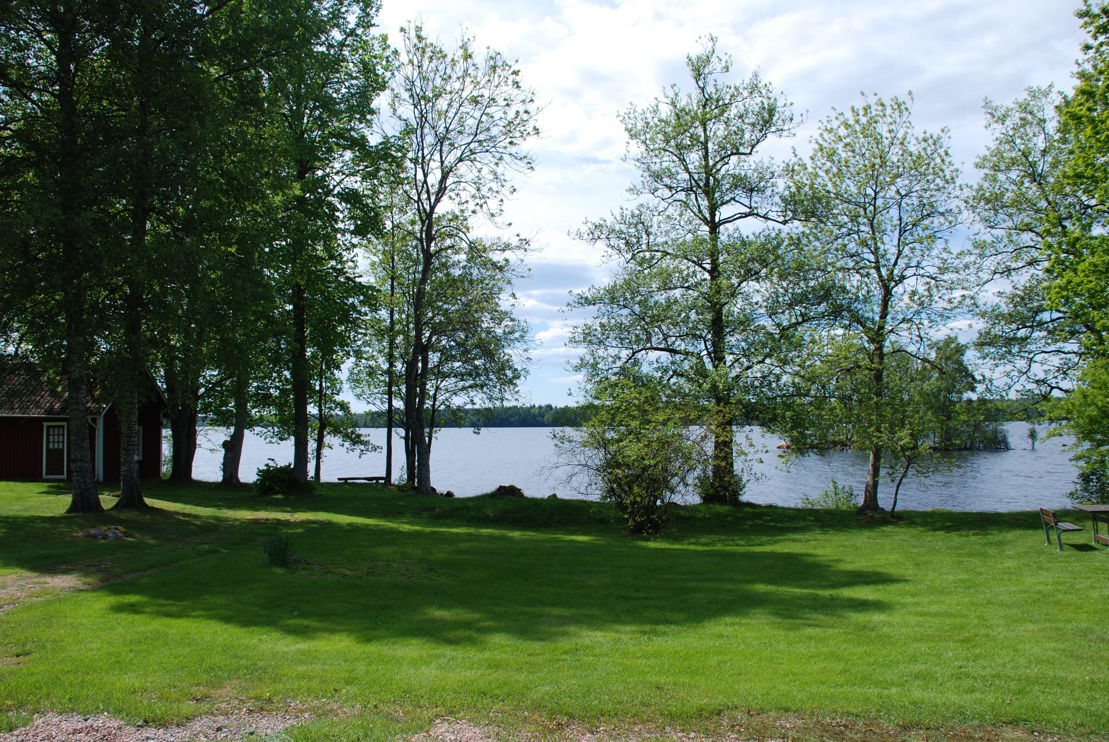 Ställplats Sandvik vid Fegensjön