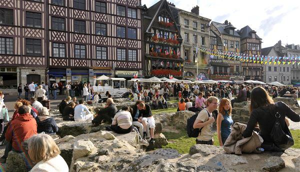 Visite audioguidée - Parcours Ville de Rouen