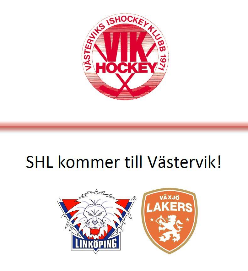 SHL kommer till Västervik