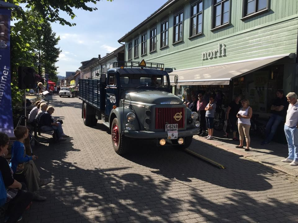 Lillehammer race for vintage cars