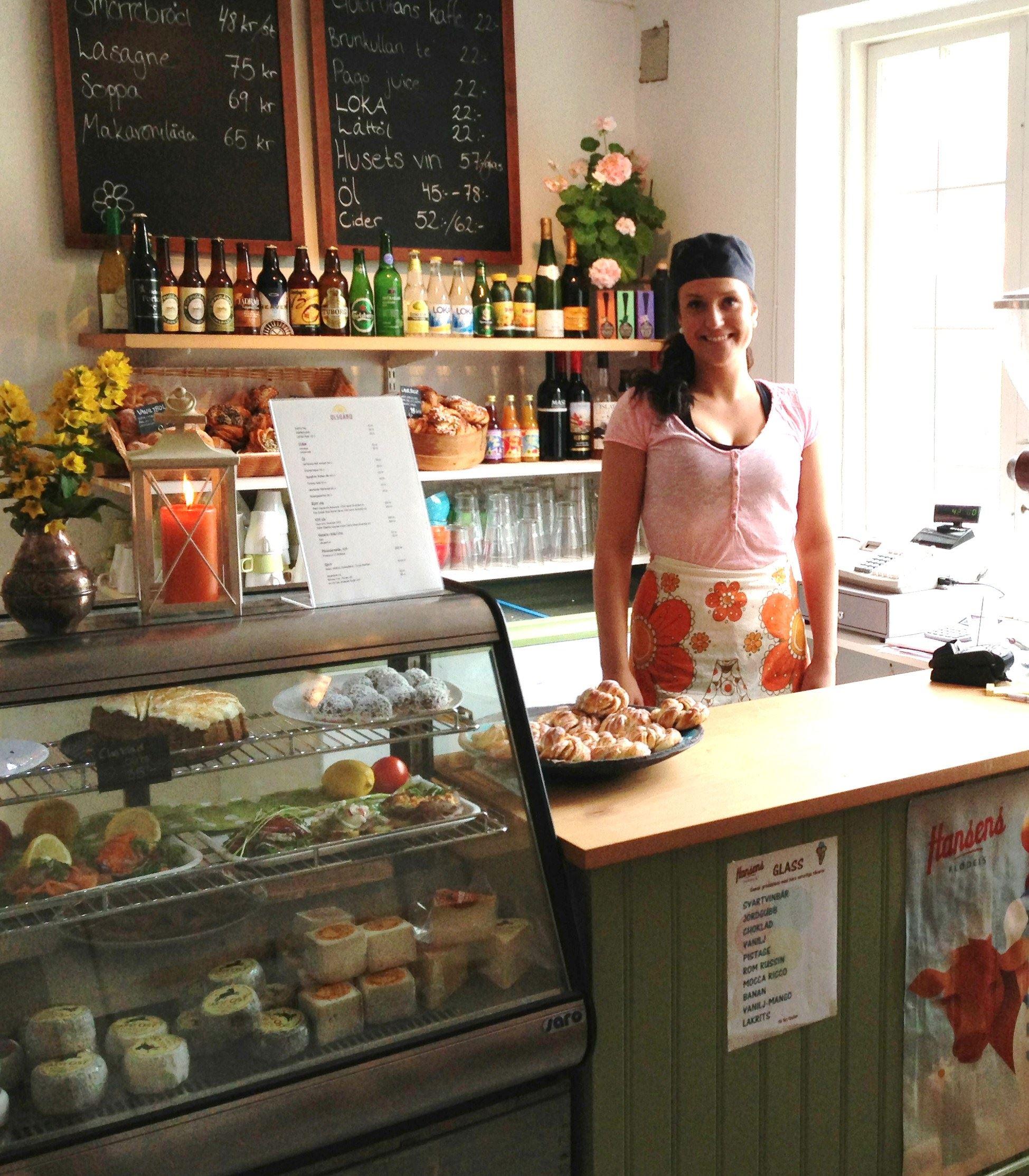 Olsgård bageri & café i Karsjö