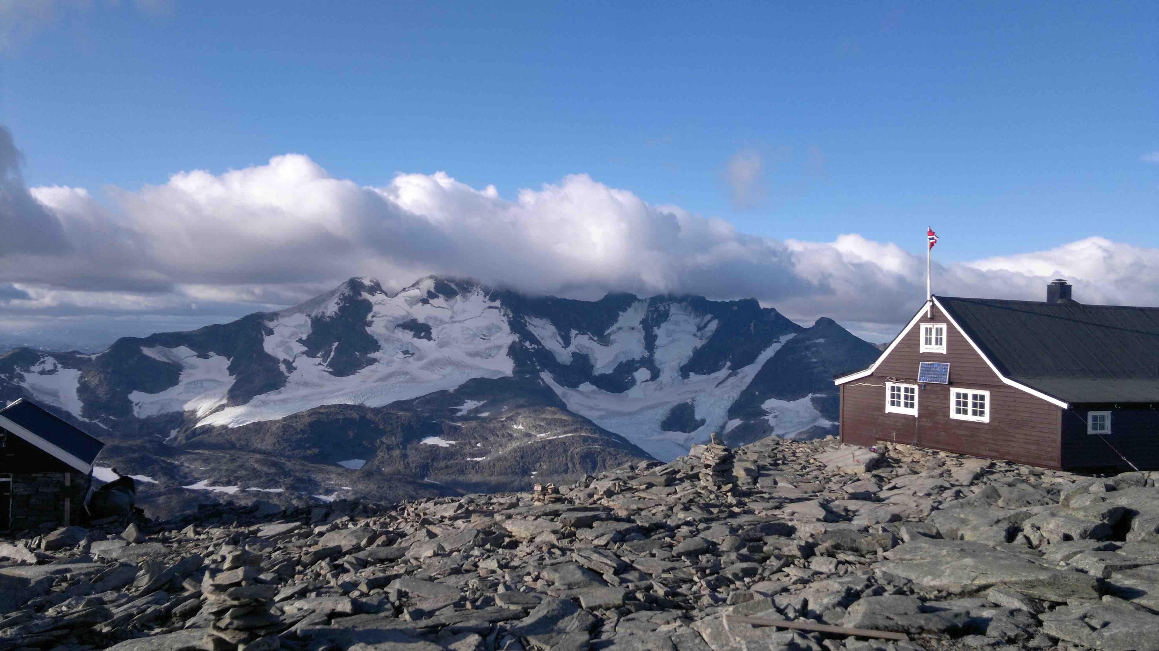 2-dagers tur til Fanaråken  13-14.august