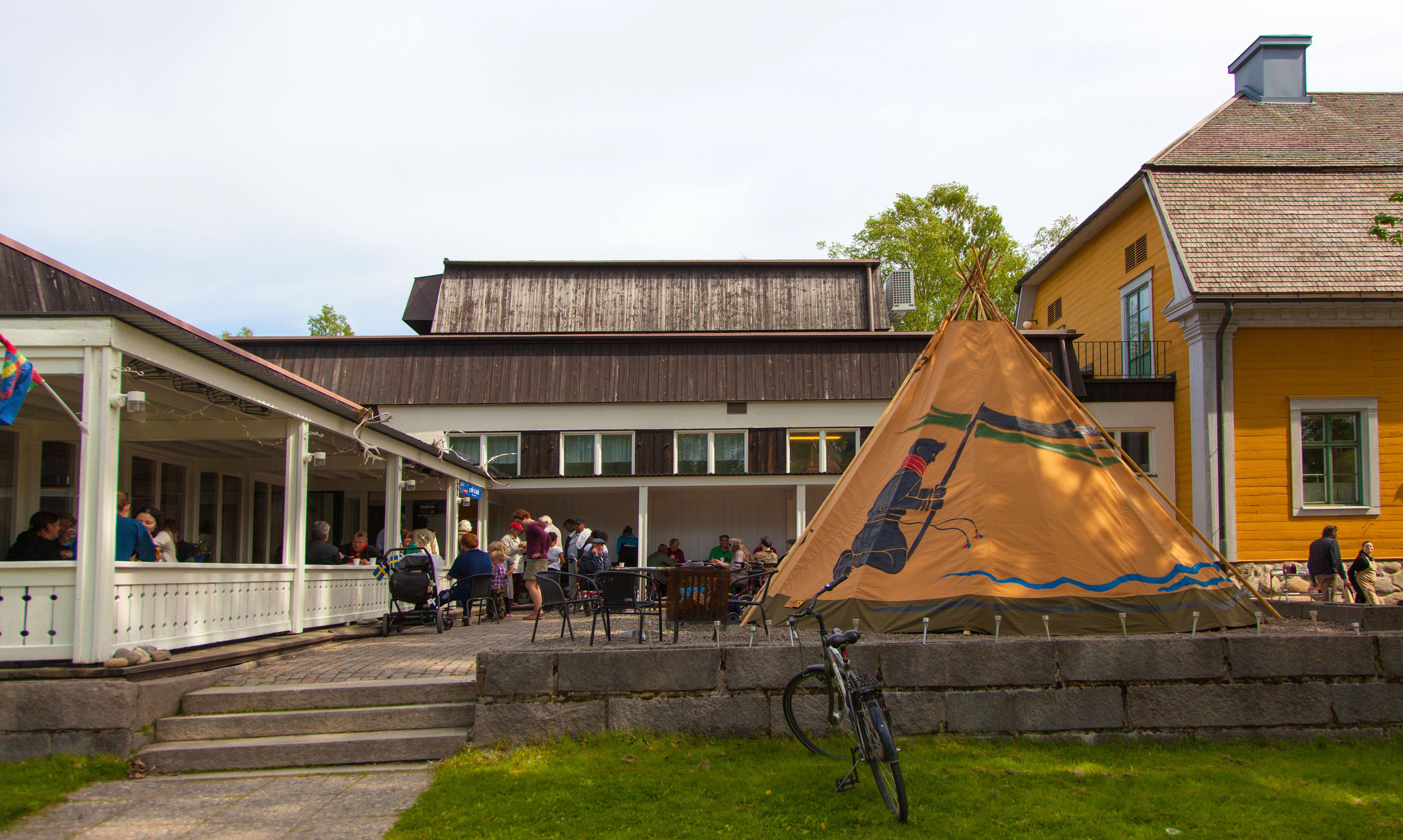 Samiskt café Tráhppie