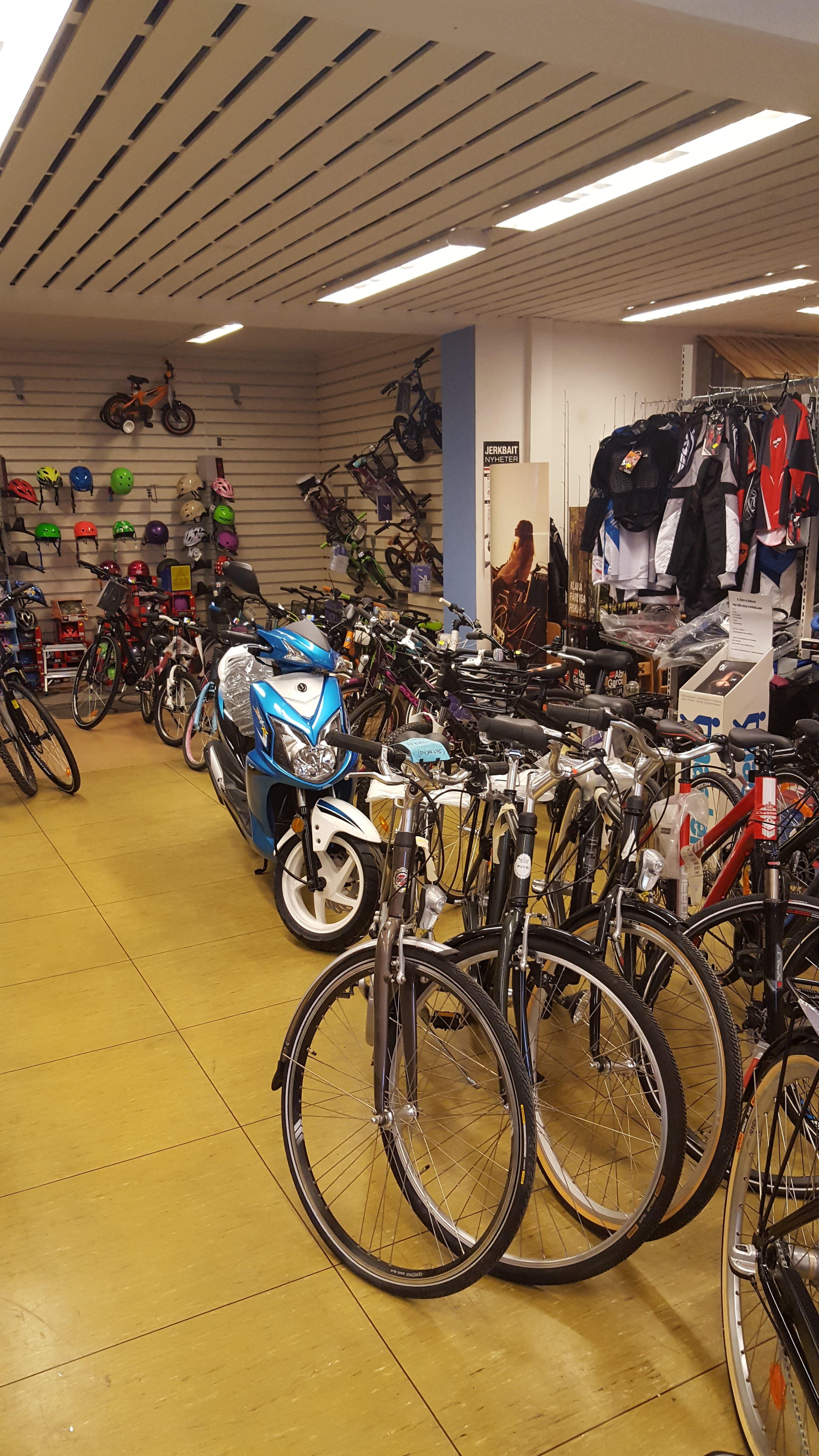 Cykel & Mopedshopen