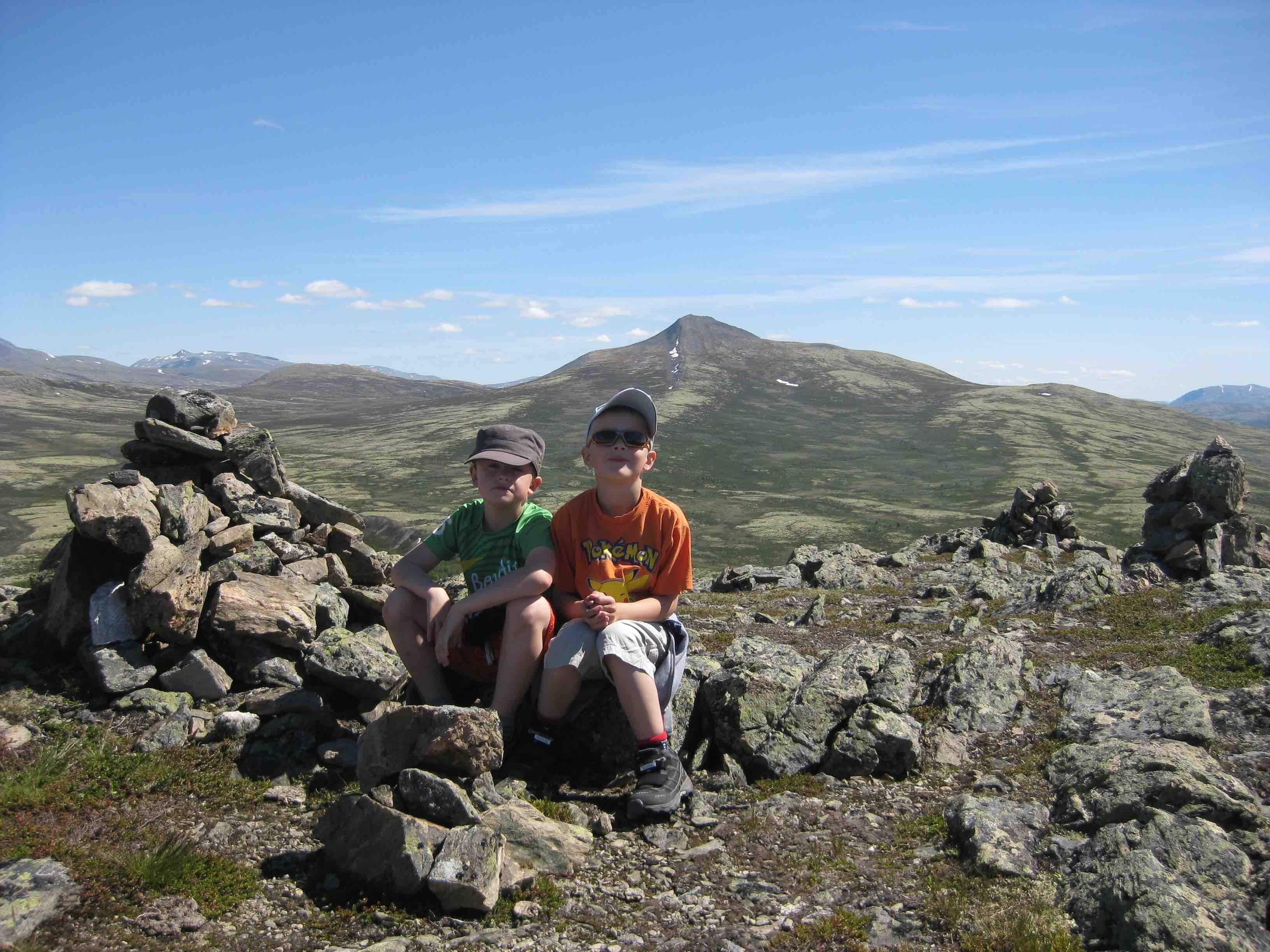 Rondanetur fra fjellstue til fjellstue