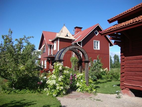 Vasaloppet vinter. Privat hus M273 Färnäs, Mora