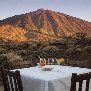 Utsikt över bergen, Parador Hotel Canadas de Teide, Teneriffa, Signaturresor