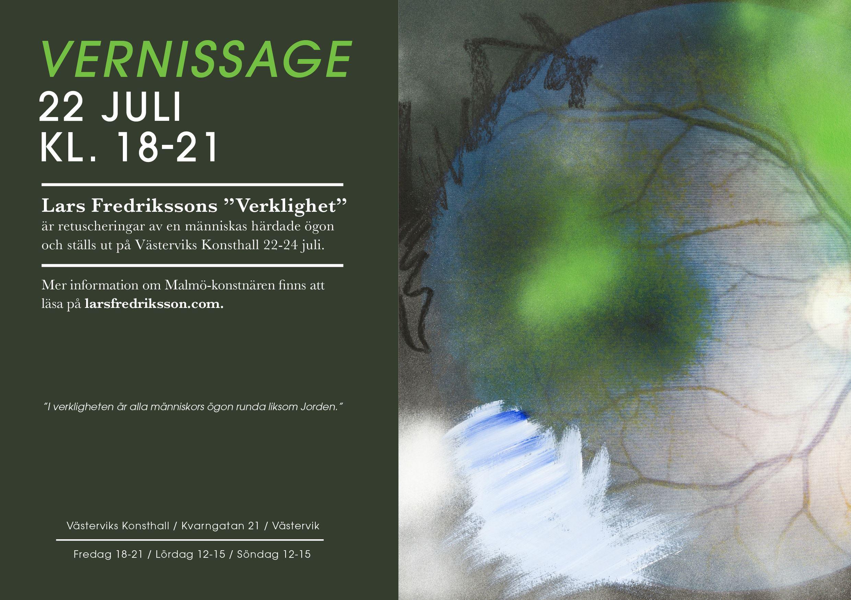 Konstutställning - Lars Fredriksson
