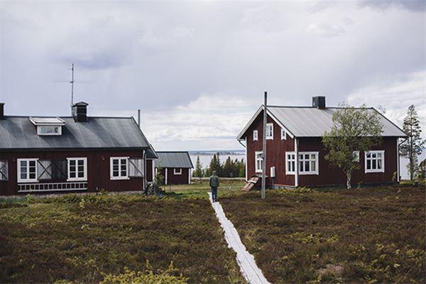 Stora Fjäderägg, STF Gästehaus
