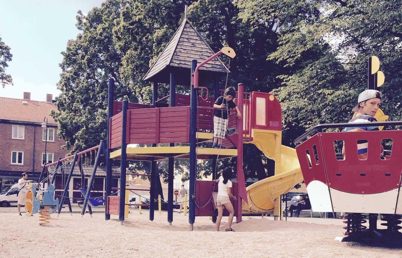 Lekpark stadsparken