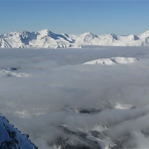 1 studio 3 personnes skis aux pieds / ARIONDAZ (montagne de charme)