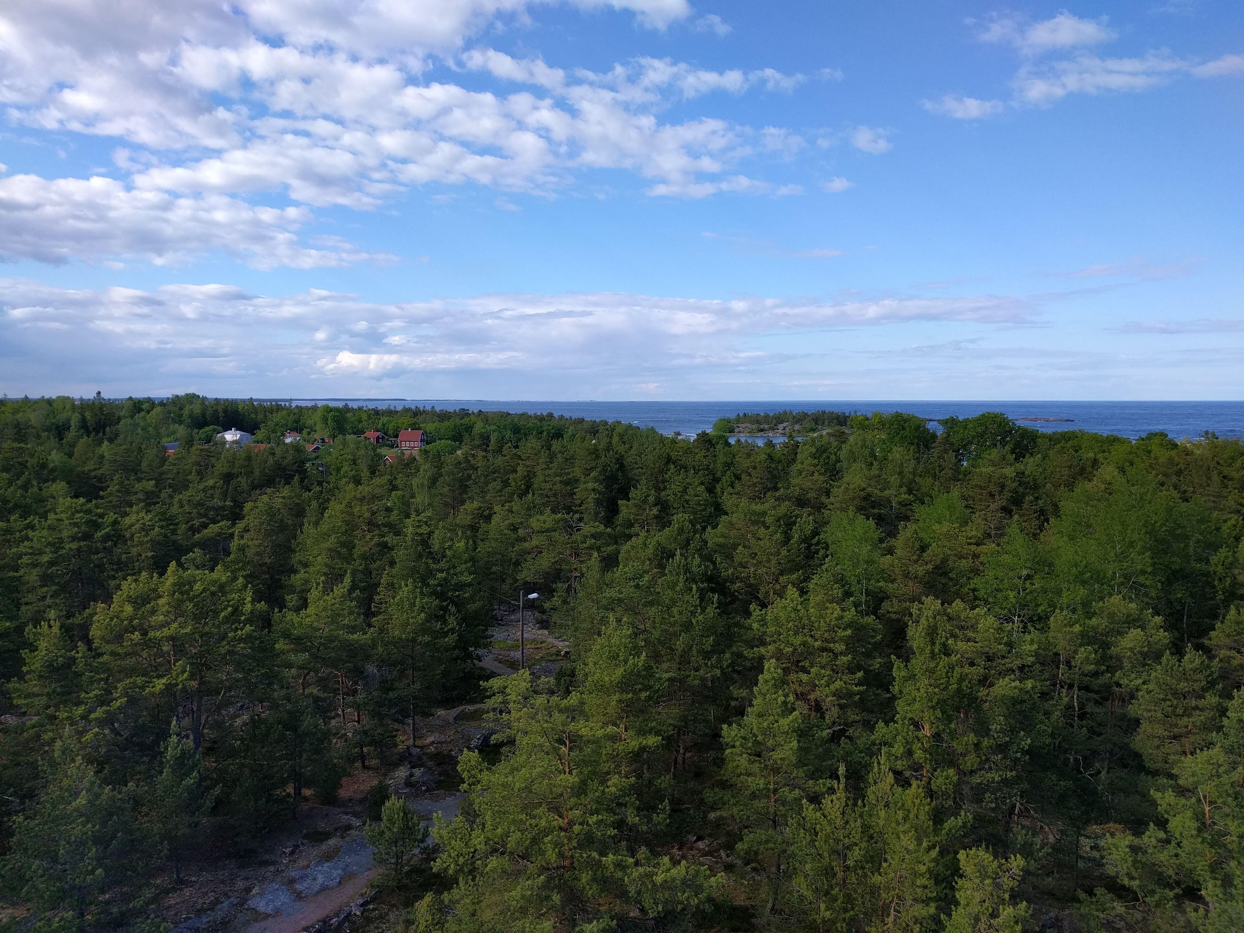 Lotsutkiken på Idö - Lotsenausguck auf der Insel Idö