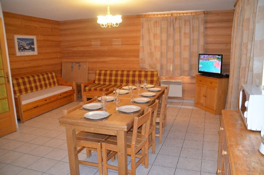 4 rooms 8 Pers 200m from slopes / Coronilles 1