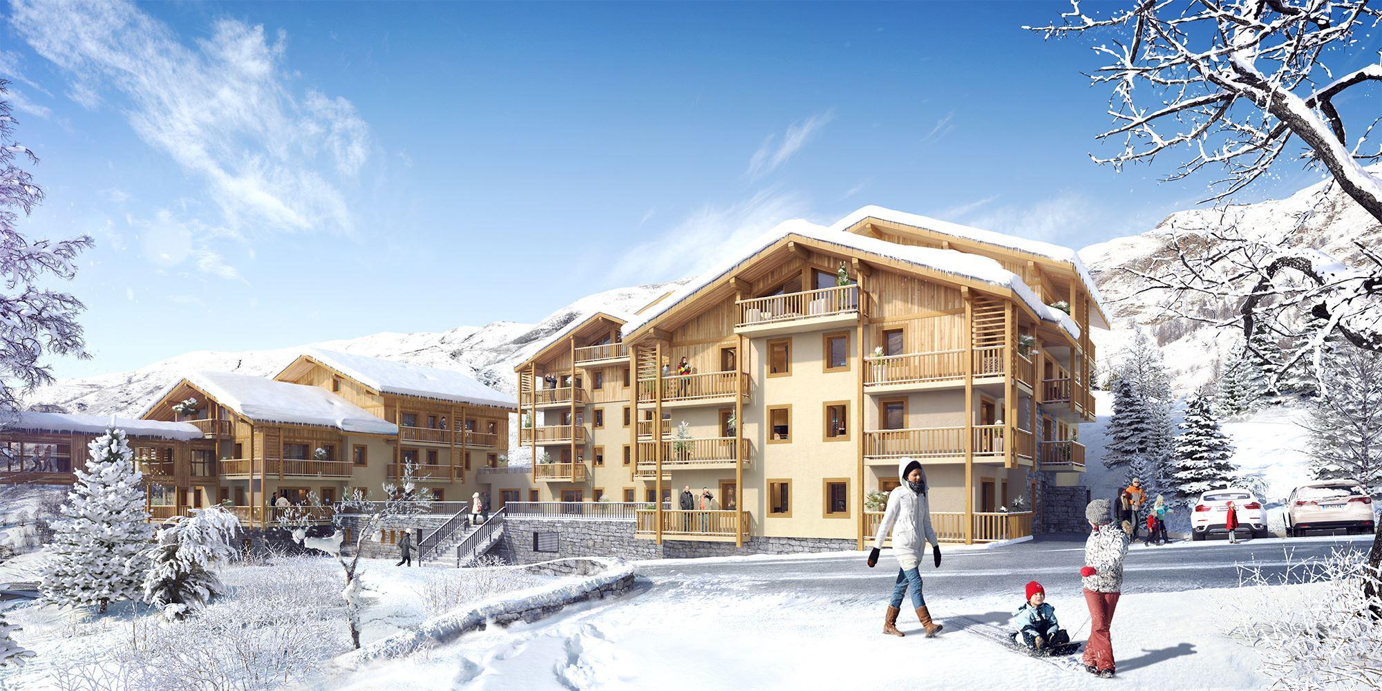 Résidence skis aux pieds / MMV Le Coeur des Loges
