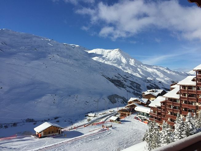 3 Room 6 Pers ski-in ski-out / VALMONT 28B