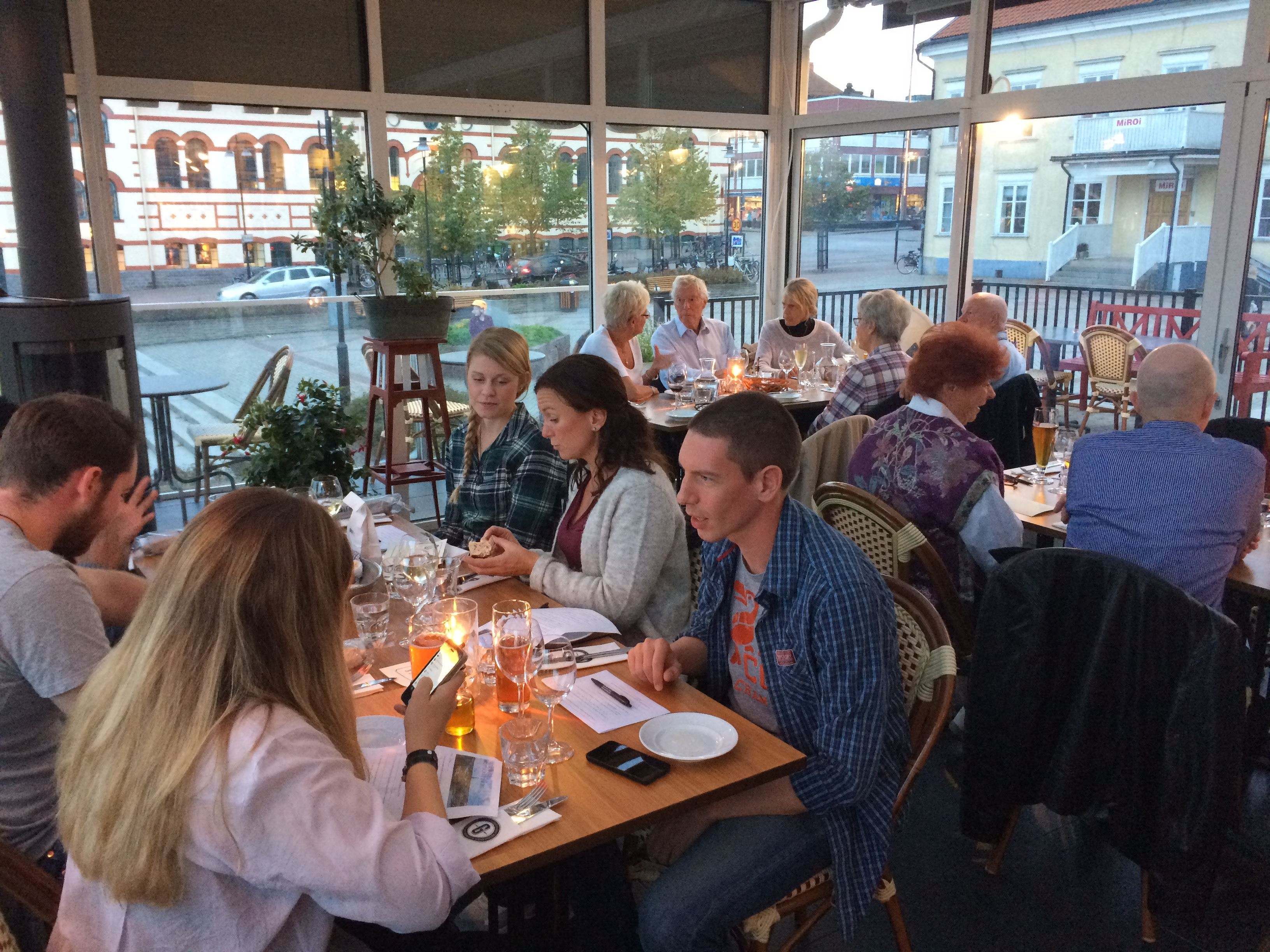 Meet-up with after work for newcomers in Västervik