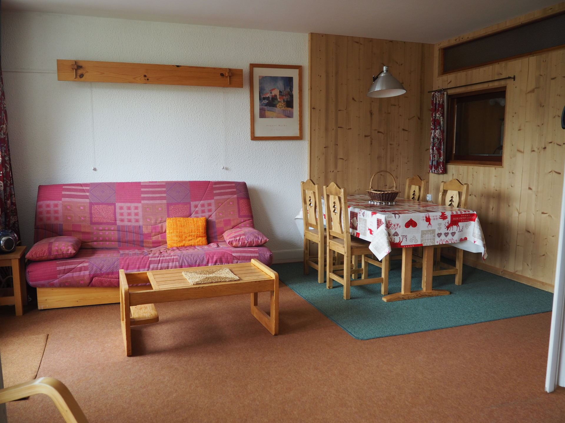 2 Rooms 5 Pers ski-in ski-out / ALPAGES 703