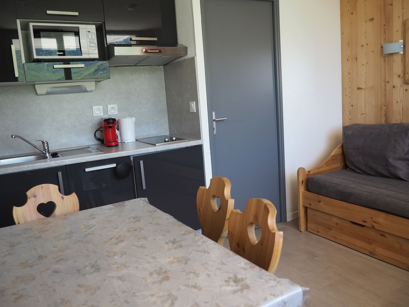 3 Pers Studio 150m from the slopes / MEDIAN 212