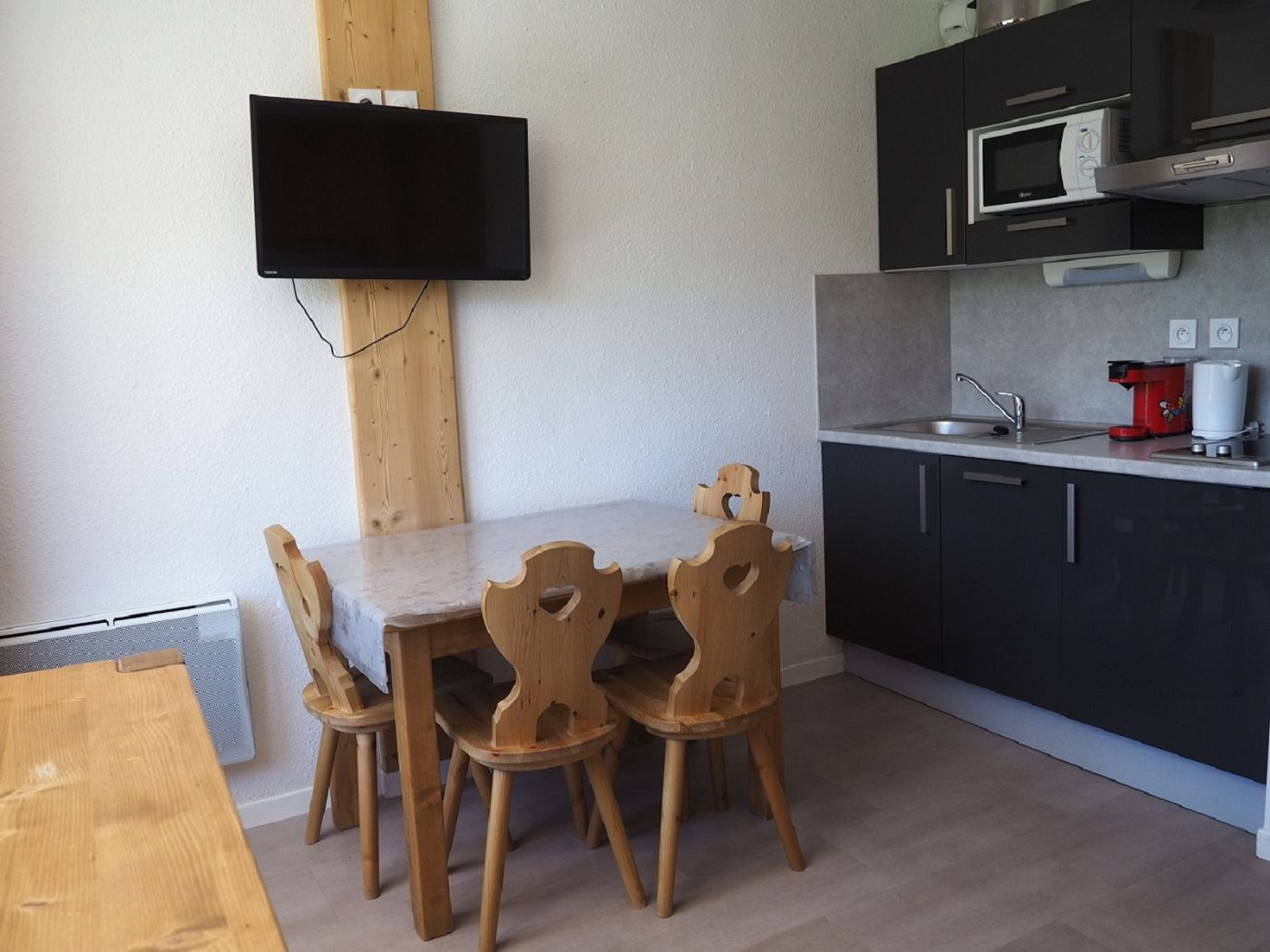 3 Pers Studio 150m from the slopes / MEDIAN 326