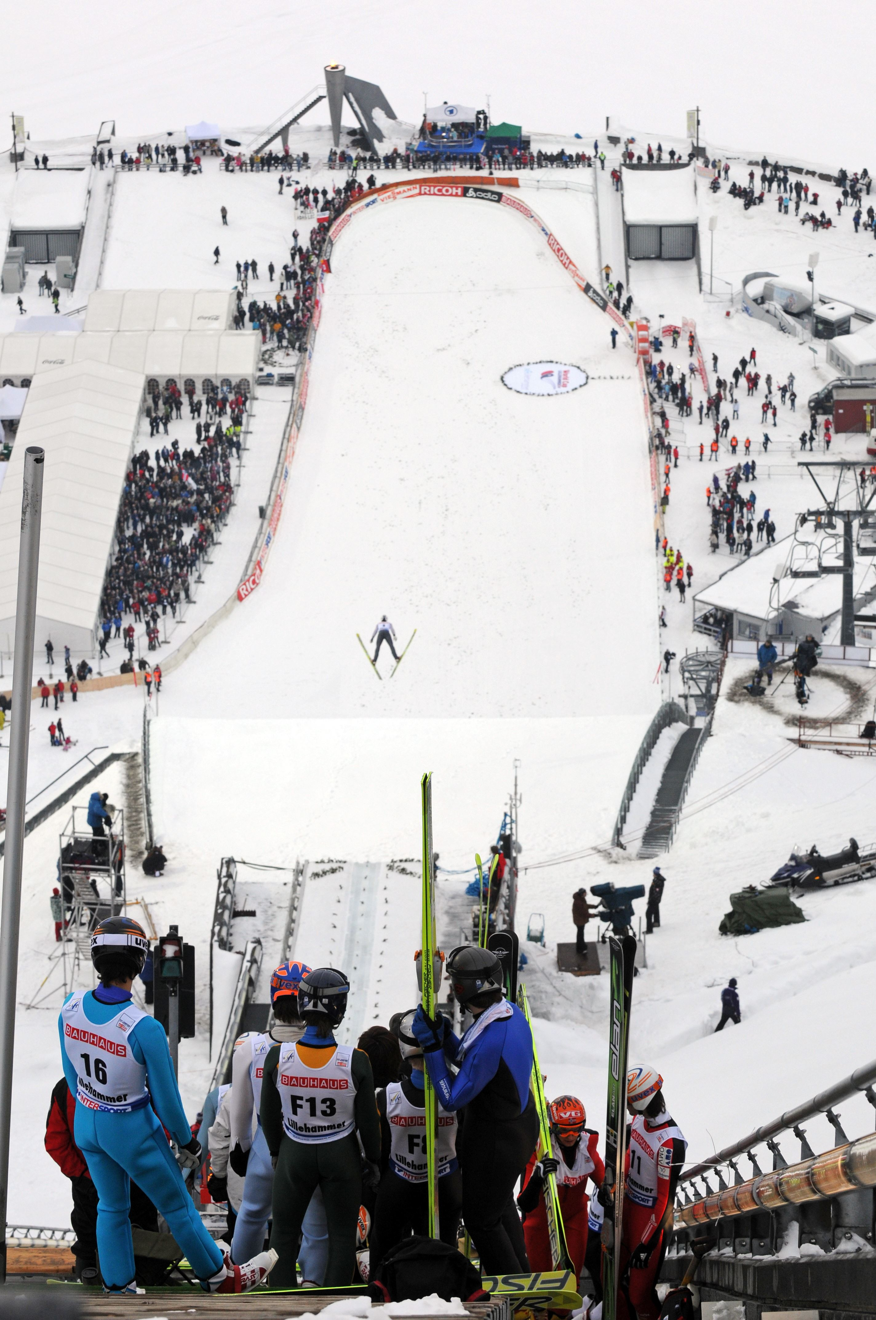 Esben Haakenstad,  © Lillehammer Olympiapark, World cup hopp Lillehammer RAW Air