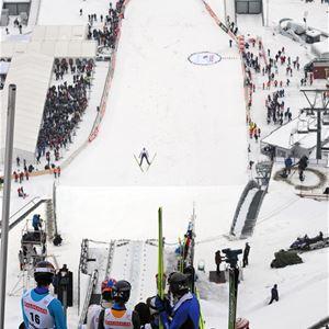 Esben Haakenstad,  © Lillehammer Olympiapark, FIS Ski Jumping World Cup Lillehammer RAW Air