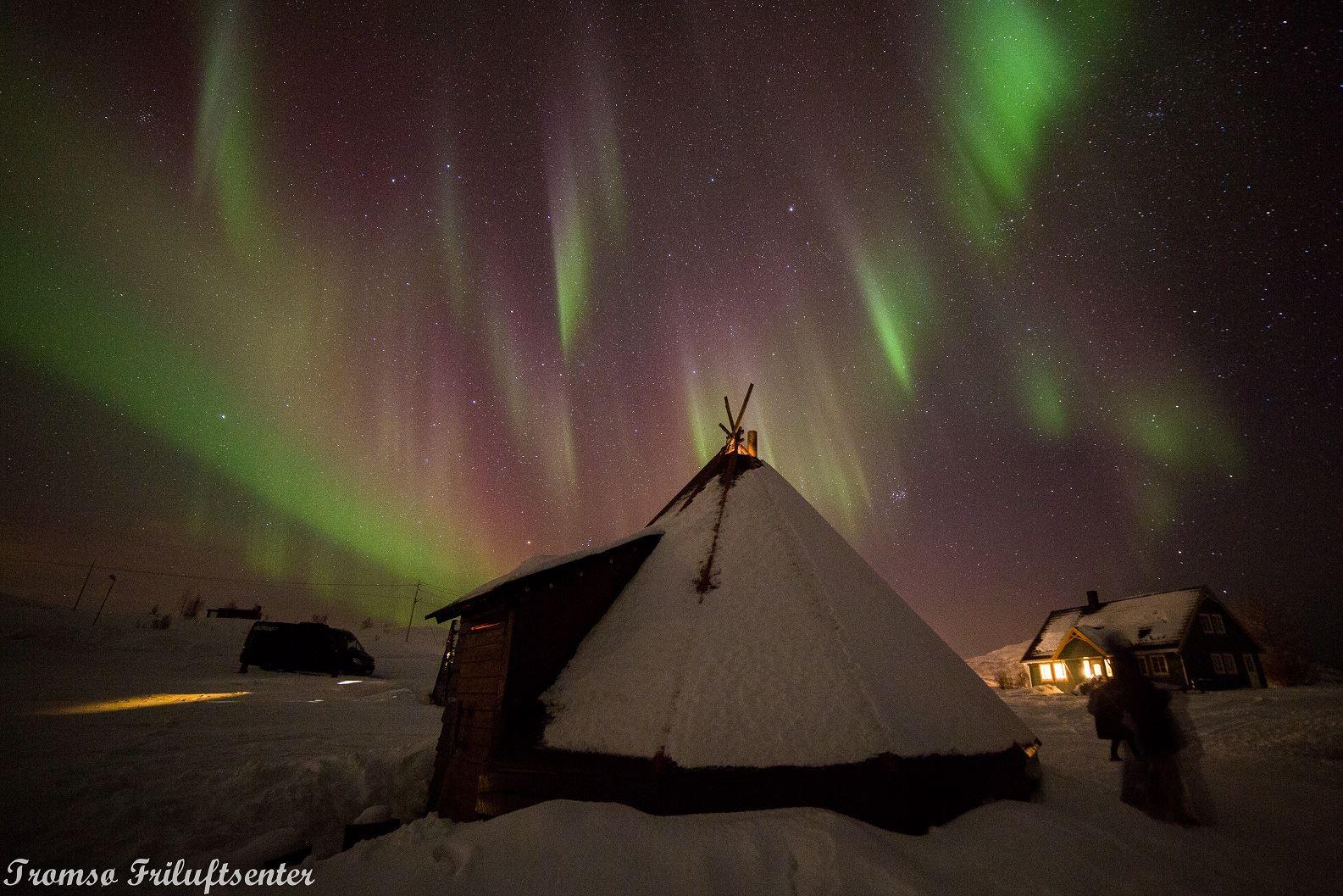 Nordlysjakt med nordnorsk sjarm - Tromsø Friluftsenter