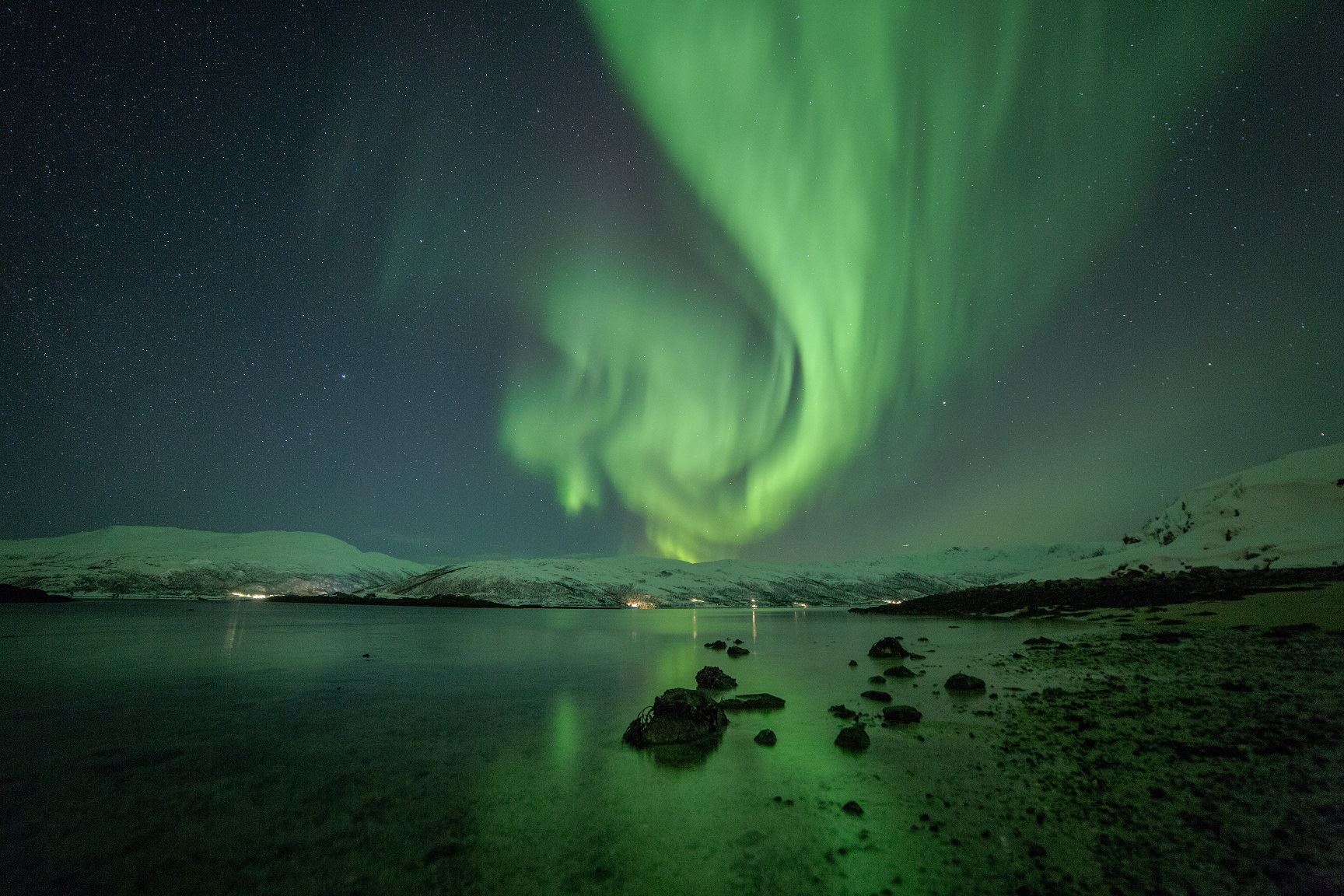 Northern Lights Chase with North Norwegian Charm - Tromsø Friluftsenter