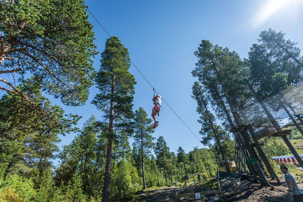 Geilo Zip Line and Tree Top Adventure Park